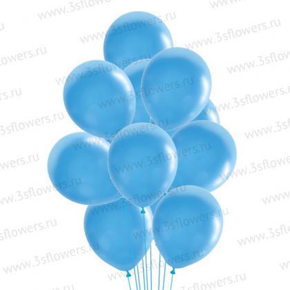 Шары голубые
