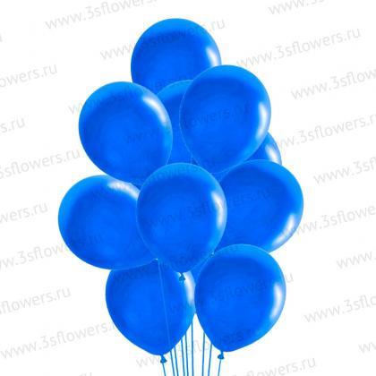 Шары синие
