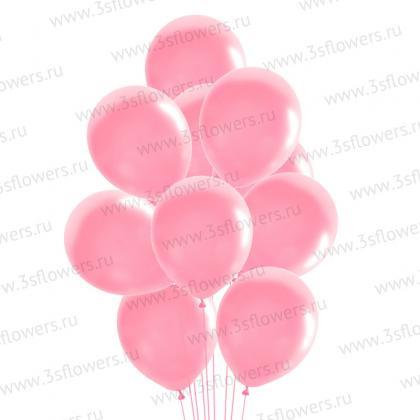 Шары розовые