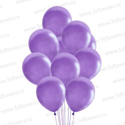 Шары фиолетовые