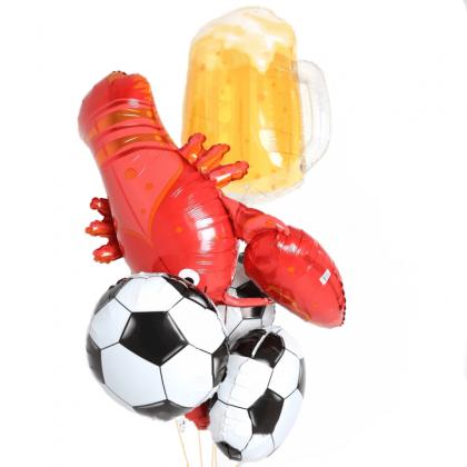 """Букет """"Пиво и футбол""""."""