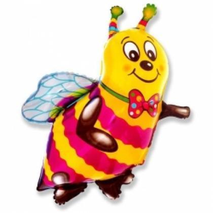 "Фигурный шар ""Пчелка""."
