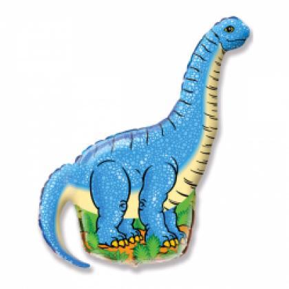 """Фигурный шар """"Динозавр Диплодок""""."""