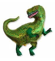 """Фигурный шар """"Динозавр Тиранозавр""""."""