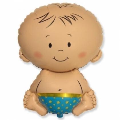 """Фигурный шар """"Малыш""""."""