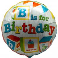 Круг день рождения кубики