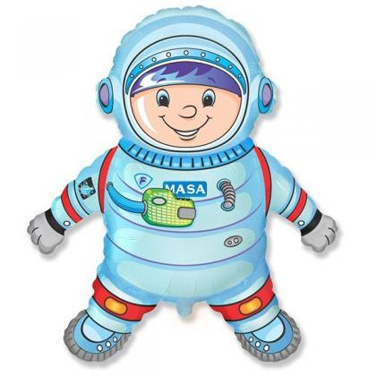 """Фигурный шар """"Астронавт""""."""