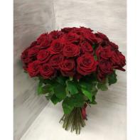 """Букет цветов """"Розы бордовые"""""""