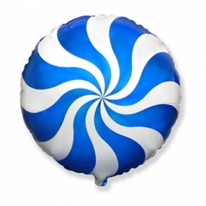 Круг Леденец синий