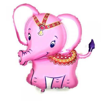 Слоненок розовый