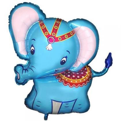 Слоненок голубой