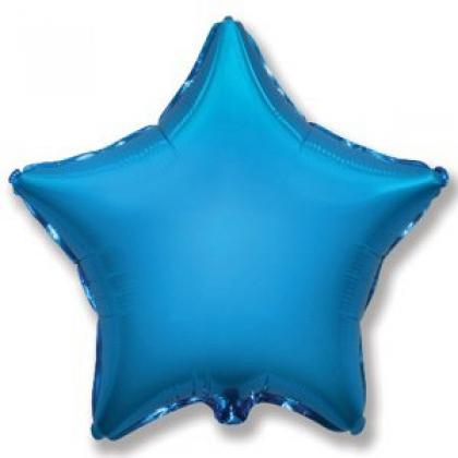 Звезда синяя