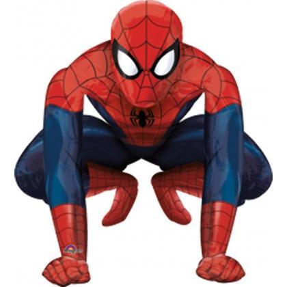 "Ходячий шар ""Человек паук""."