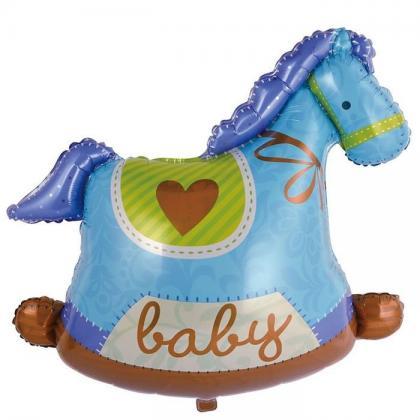 Лошадка качалка для мальчика
