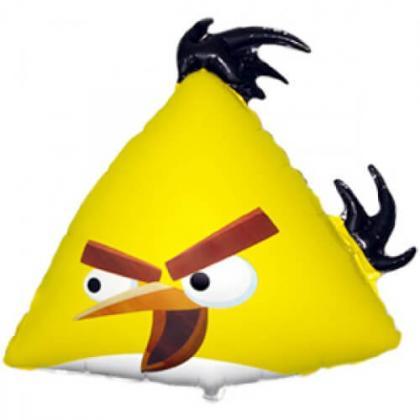 Птица желтая
