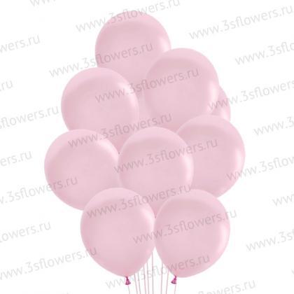 Шары бледно розовые