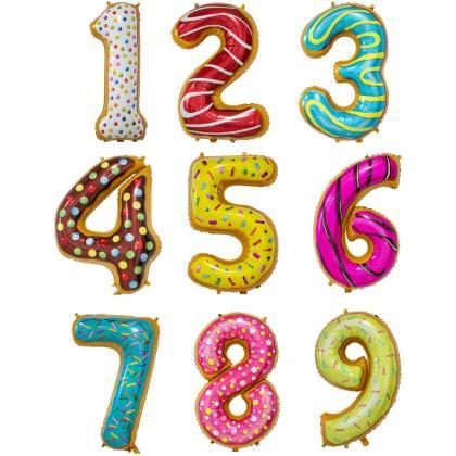 Цифры пирожные