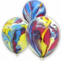 Мраморные разноцветные