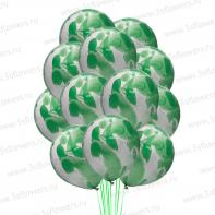 Мраморные зеленые