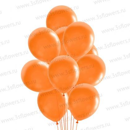 Шары оранжевые