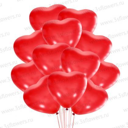 Сердца Красные
